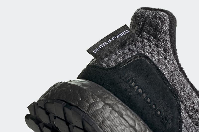 《Game of Thrones》x adidas UltraBOOST 聯名系列正式發佈