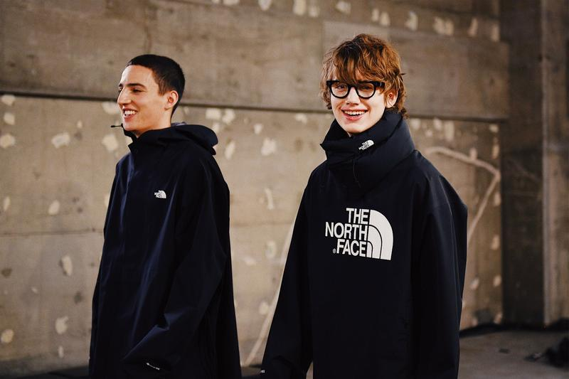 走進 HYKE x The North Face 2019 秋冬發佈會後台
