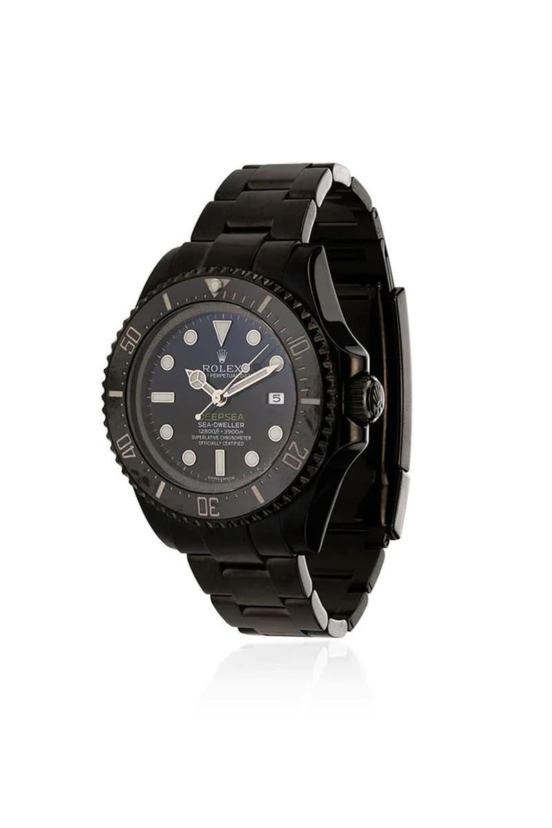 MAD Paris 打造 Rolex Deepsea「暗黑」定製版本