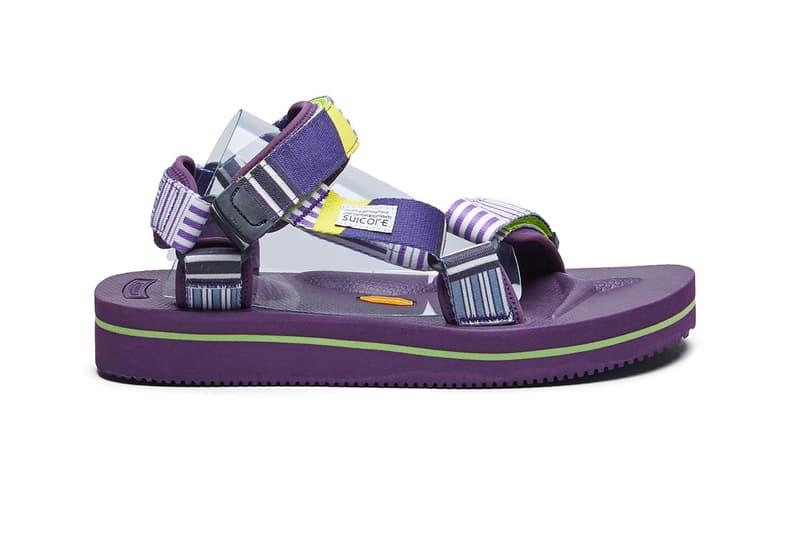 SUICOKE 推出北美網站紀念版涼鞋系列