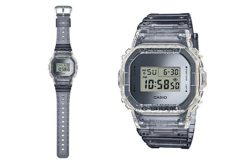 G-SHOCK 推出 90s 復古透明殼手錶系列