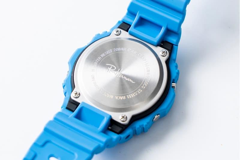 G-SHOCK 与 Ron Herman 推出联名腕表