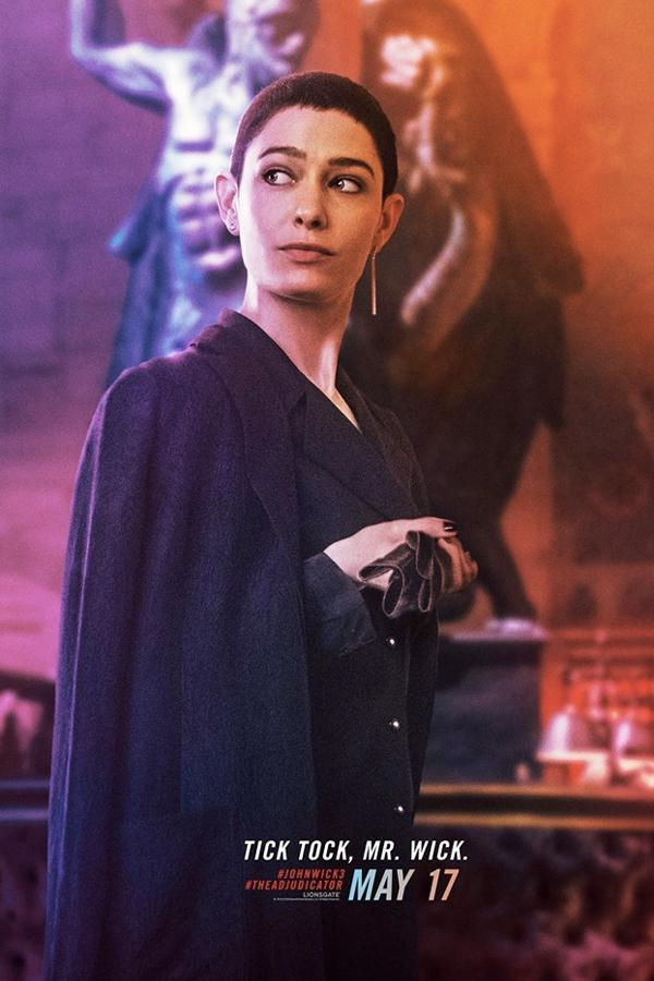 《John Wick 3: Parabellum》最新電影角色海報正式公開