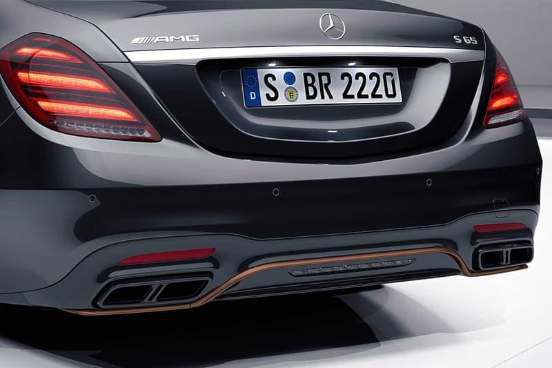 搶先預覽 Mercedes-AMG 全新 S65 Final Edition 車型