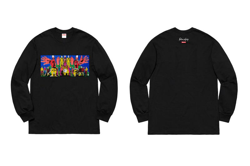 Supreme x Gilbert & George 2019 春夏聯名系列