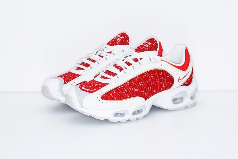 Supreme x Nike 聯名 Air Tailwind IV 鞋款正式發佈