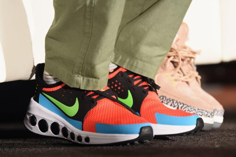 Tinker Hatfield 於 SXSW 上腳一雙神秘 Nike React 運動鞋