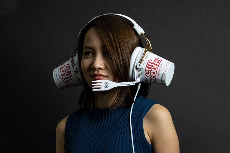 日清 Nissin 與 HyperX 打造杯麵造型耳機