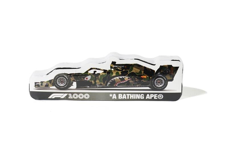 A BATHING APE® x Formula 1 聯名系列正式發佈