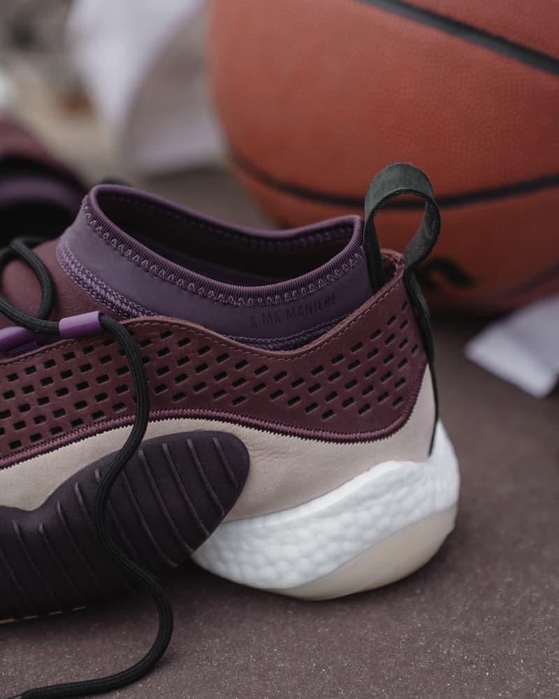 adidas Consortium x A Ma Maniere 聯名 Crazy BYW Low 鞋款