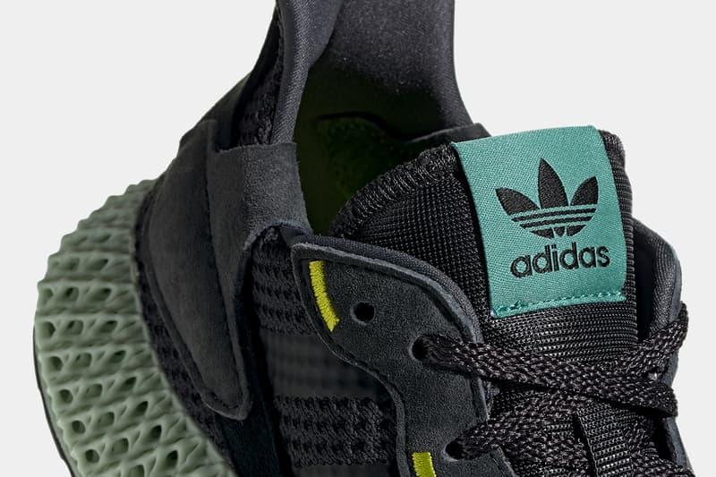 adidas ZX 4000 4D 全新「Carbon」配色發售日期確定
