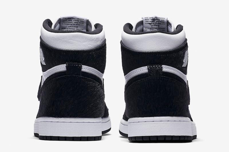 Air Jordan 1 全新「Panda」配色官方圖片釋出