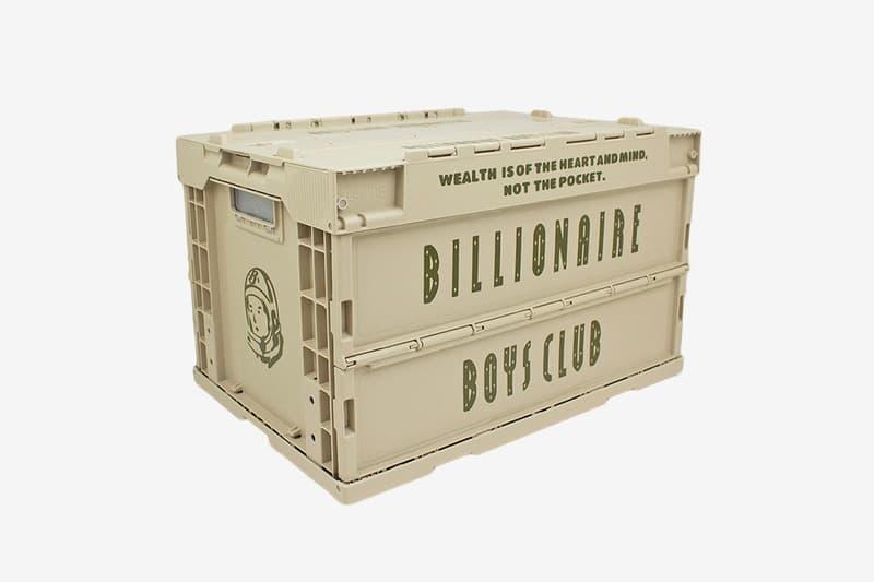 Billionaire Boys Club 超限定儲物箱發售詳情公開