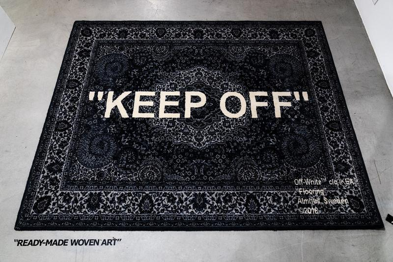 "Virgil Abloh x IKEA ""MARKERAD"" 聯名系列將於美國再度上架"