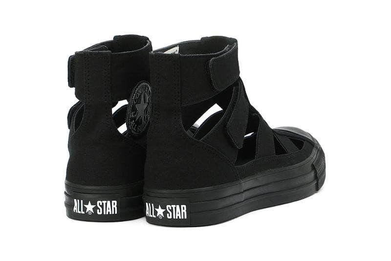 Converse 推出 All Star Gladiator Hi 變種羅馬涼鞋