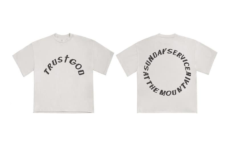 Kanye West 及 YEEZY 為 Coachella 推出「Sunday Service」別注系列