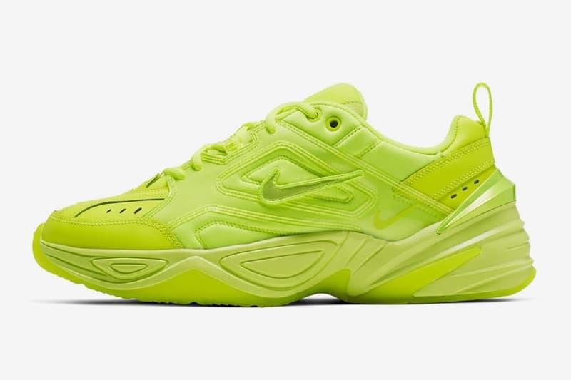 Nike M2K Tekno 全新「Volt」配色即将上架