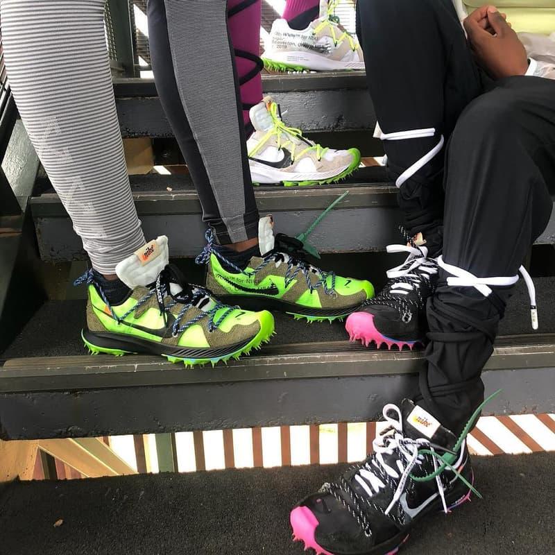 Off-White™ x Nike 全新聯名鞋款最新諜照釋出