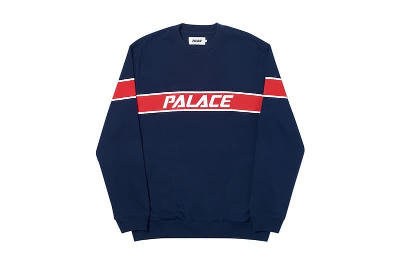 Palace 2019 夏季衛衣系列