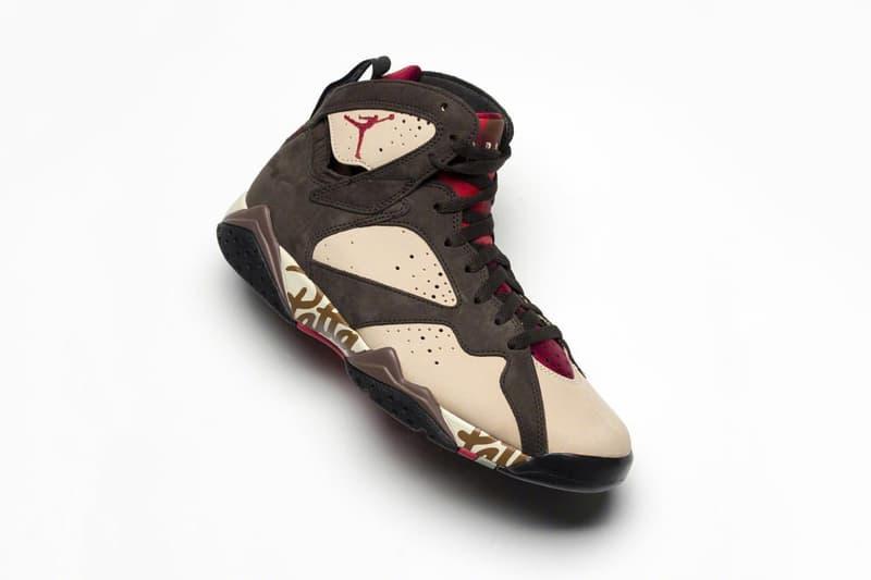 率先近賞 Patta x Air Jordan 7 全新聯名鞋款
