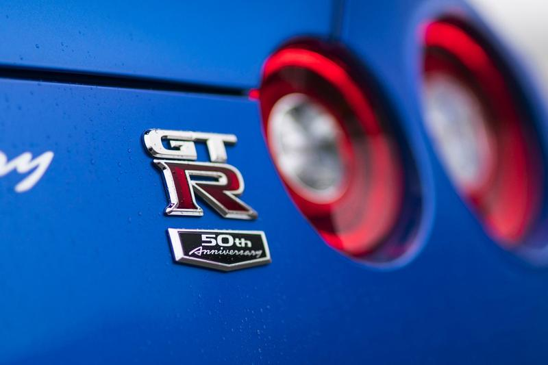 Nissan GT-R 全新 50 週年別注車型登場