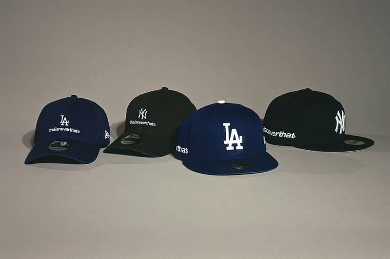 thisisneverthat x New Era 全新聯名 9TWENTY & 59FIFTY 帽款系列發佈