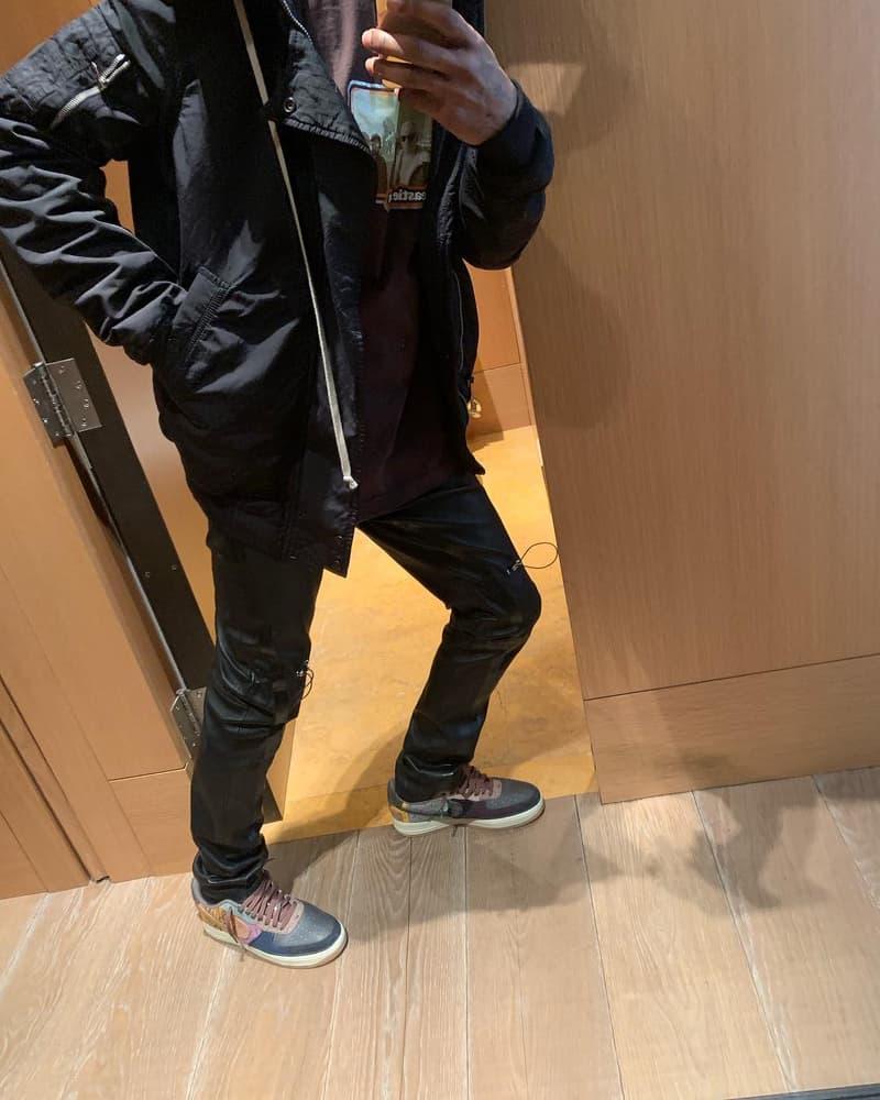 Travis Scott x Nike 全新聯名 Air Force 1 發售日期曝光