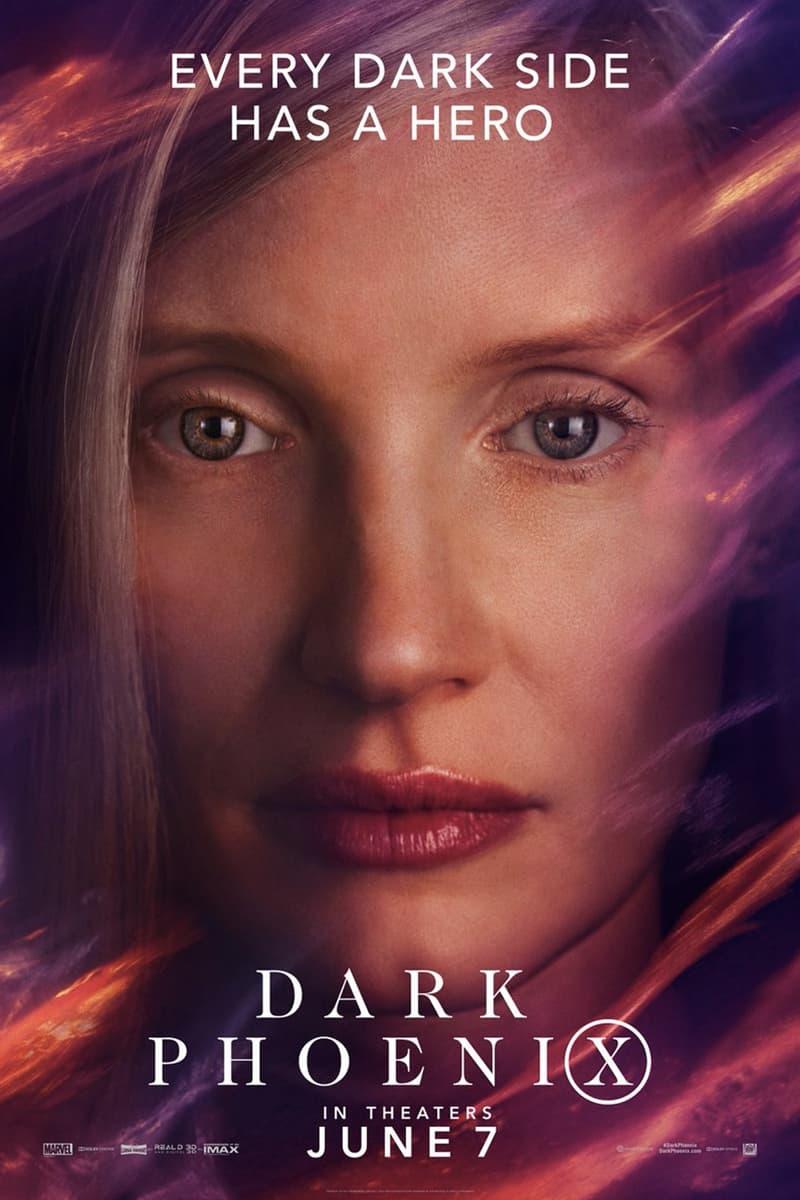 《X-Men: Dark Phoenix》最新電影角色海報正式發佈