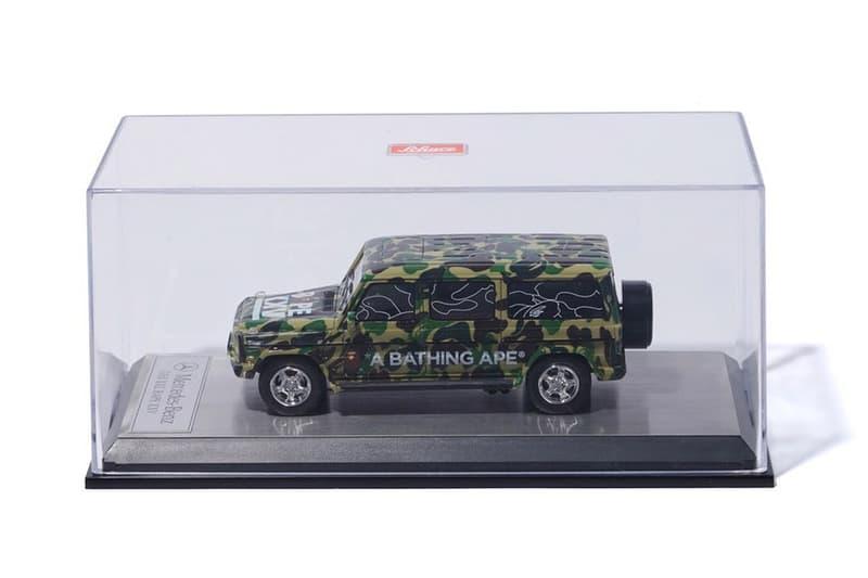 A BATHING APE® x Schuco 迷彩 G-Class 玩具車