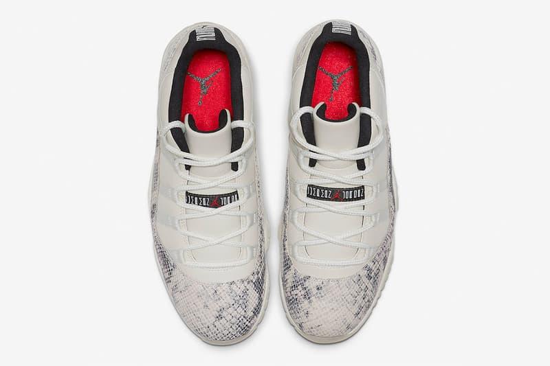 Air Jordan 11 Low「Light Bone」官方图片释出