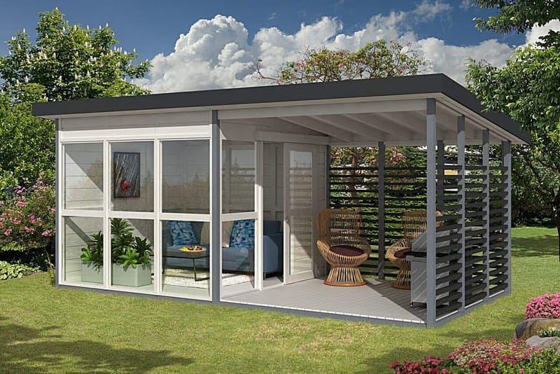 一款「自搭建」簡易房屋在 Amazon 開售