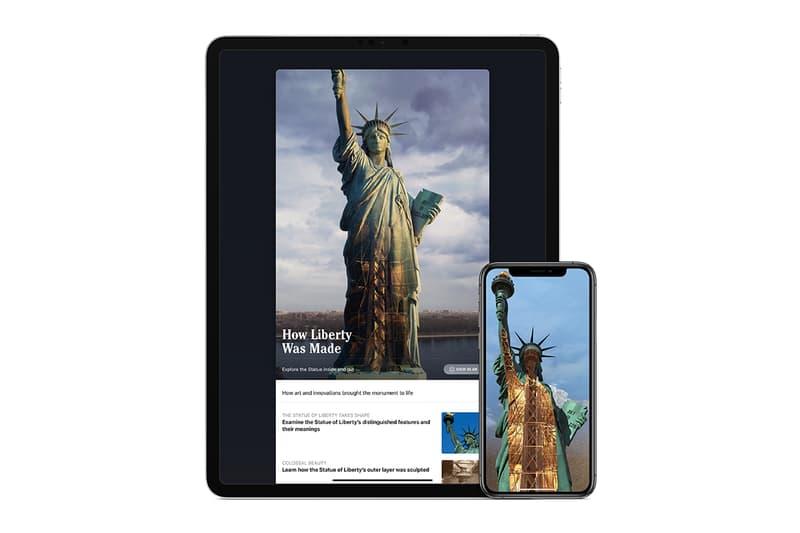 通过《Statue of Liberty》全新 AR 體驗了解美國自由女神像