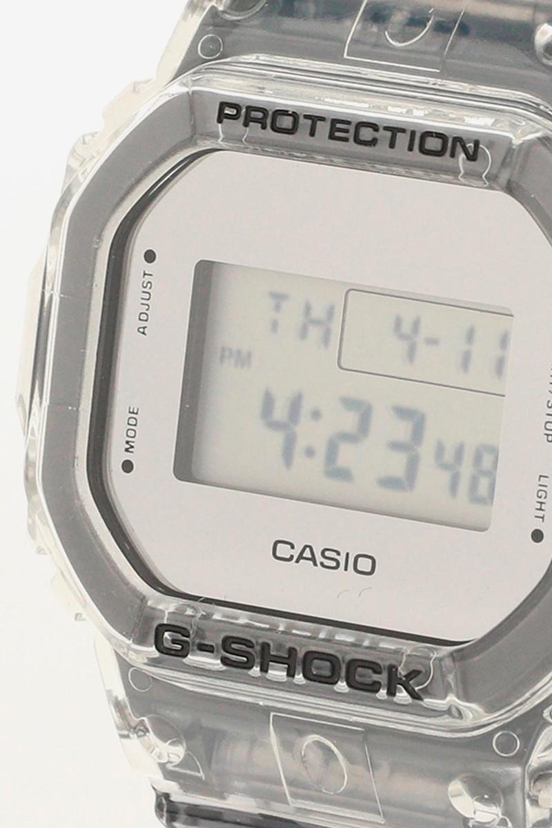 BEAMS x G-SHOCK 全新聯名「Clear Skeleton」腕表