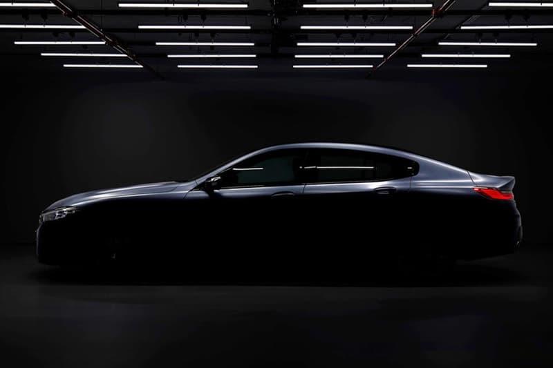 BMW 旗艦 8 系 Gran Coupe 版本預告圖片釋出