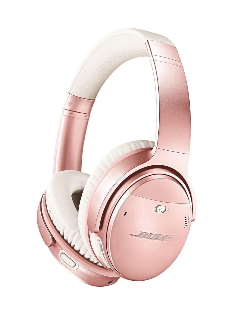 Bose 為 QuietComfort 35 II 无线消噪耳机推出全新玫瑰金限量版本