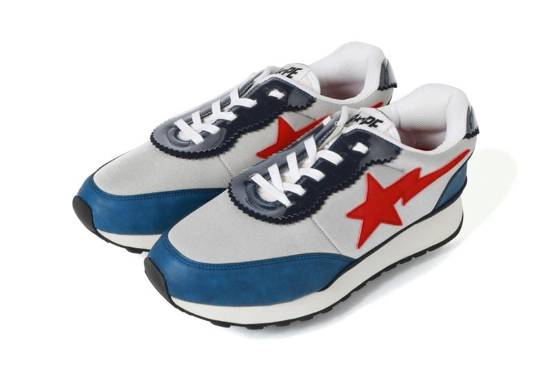 BAPE 以 Roadsta 為藍本延伸全新慢跑運動鞋履