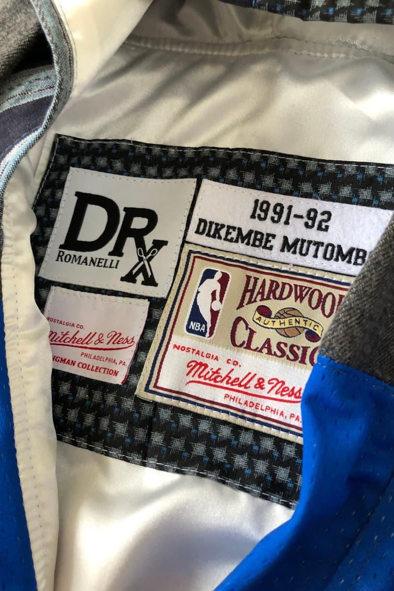Dr. Romanelli 解構重組 Mitchell & Ness 球衣成日式 Kimono 工作服