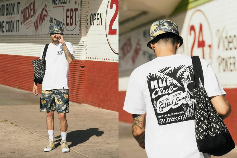 HUF 2019 夏季系列 Lookbook 發佈