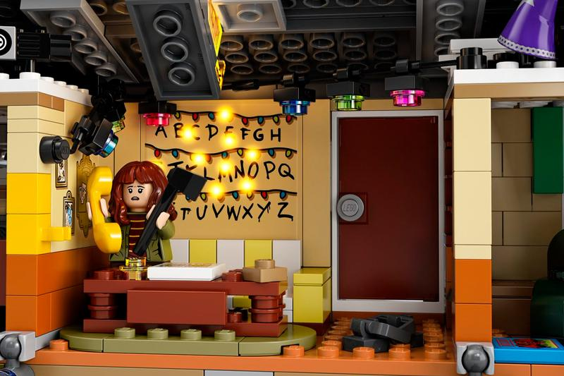 《Stranger Things》x LEGO 全新聯名「Upside Down」套裝正式揭曉