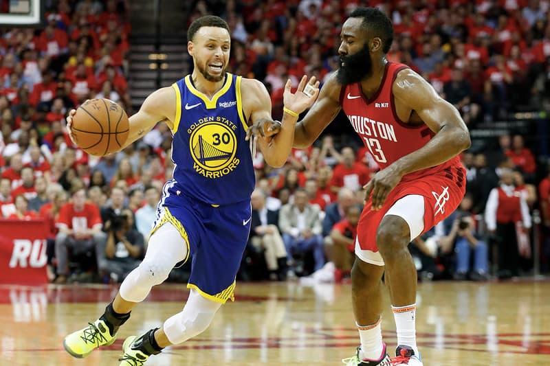 NBA 季後賽 2019 − James Harden 持續上演飆分秀領 Rockets 打平 Warriors