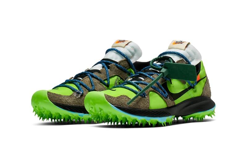 Off-White™ x Nike 聯名 Zoom Terra Kiger 5 鞋款正式發佈