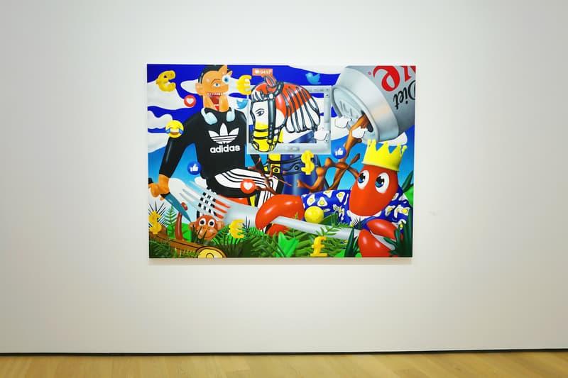 走進 Philip Colbert  香港首度個人展「Lobster Land」