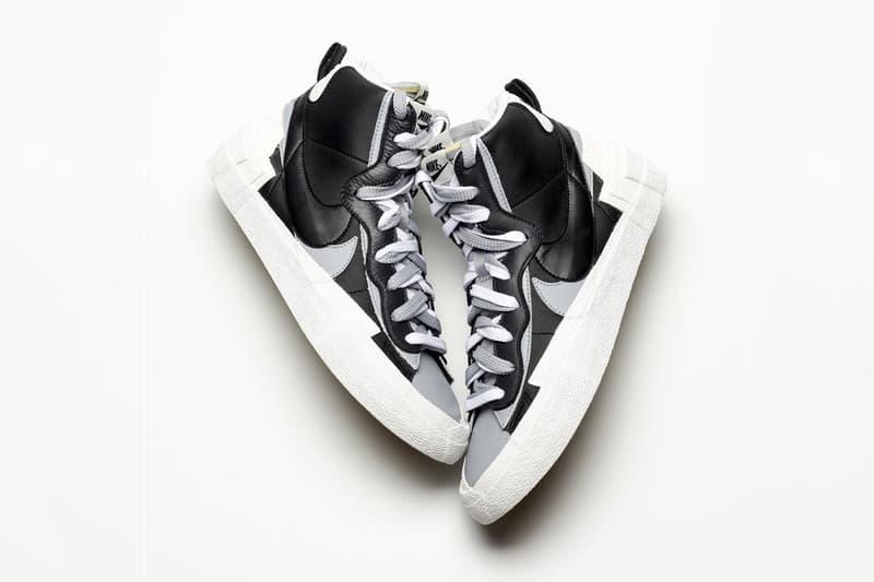 搶先預覽 sacai x Nike「Blazer with the Dunk」全新黑白設計