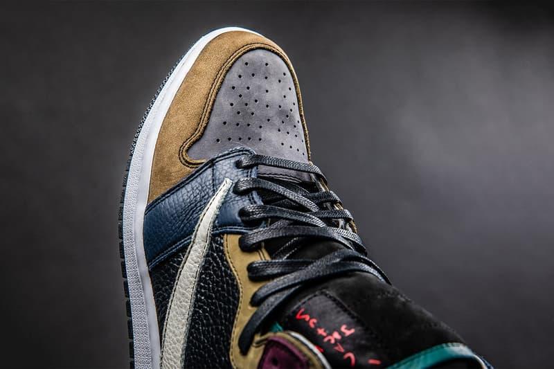 The Shoe Surgeon 打造 Travis Scott x Air Jordan 1 定製版本