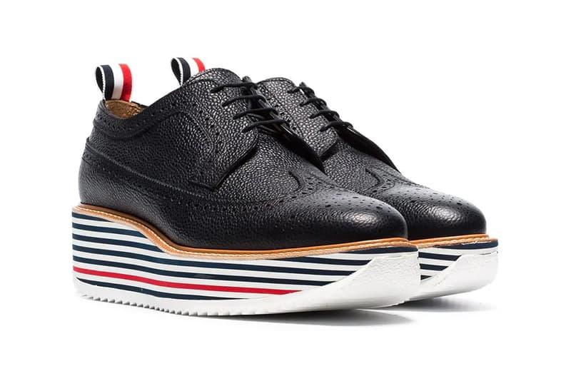 Thom Browne 推出全新厚底皮鞋