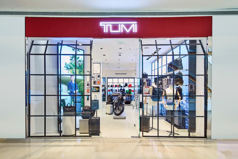 TUMI 于上海开设全新限时精品店