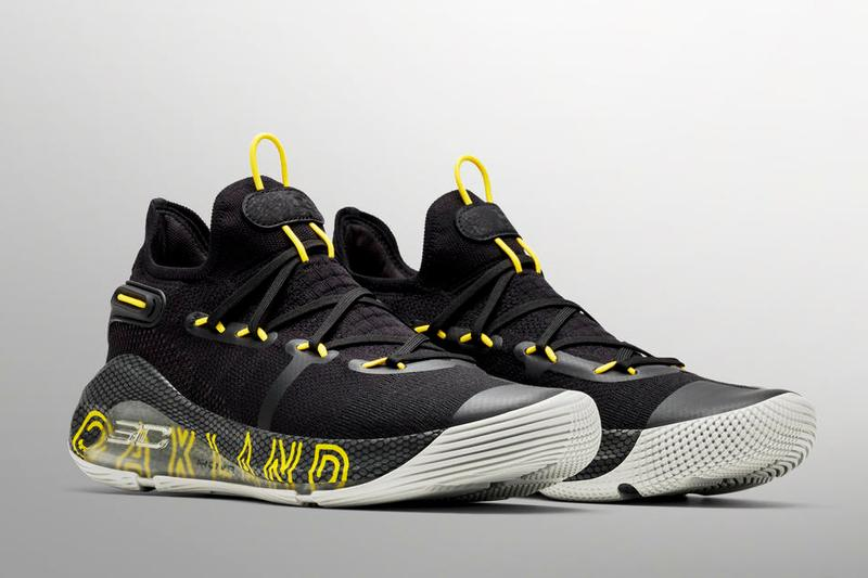 Under ArmourCurry6 全新「Thank You Oakland」配色