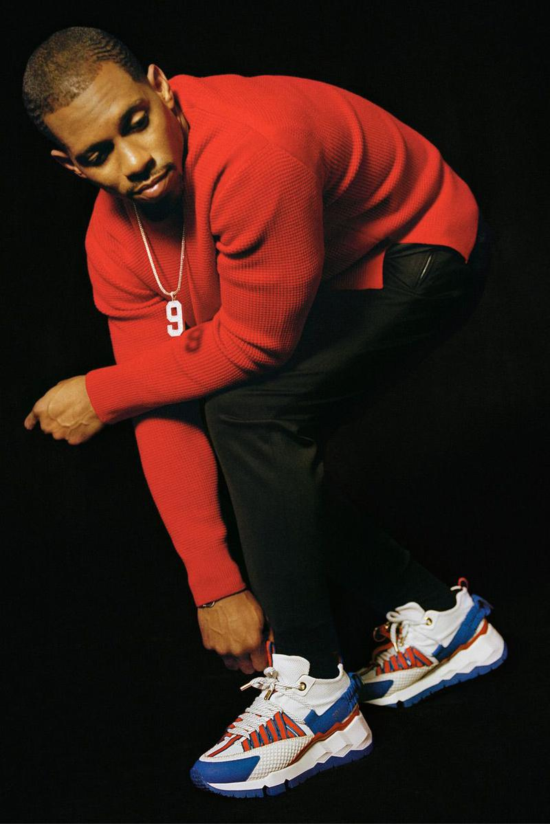 Pierre Hardy 為 NFL 傳奇 Victor Cruz 推出全新簽名運動鞋 V.C.I