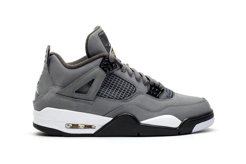 搶先近賞 Air Jordan 4 最新復刻配色「Cool Grey」
