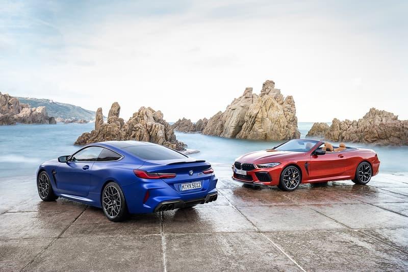 BMW 全新 M8 Competition 硬頂及敞篷轎跑系列震撼登場
